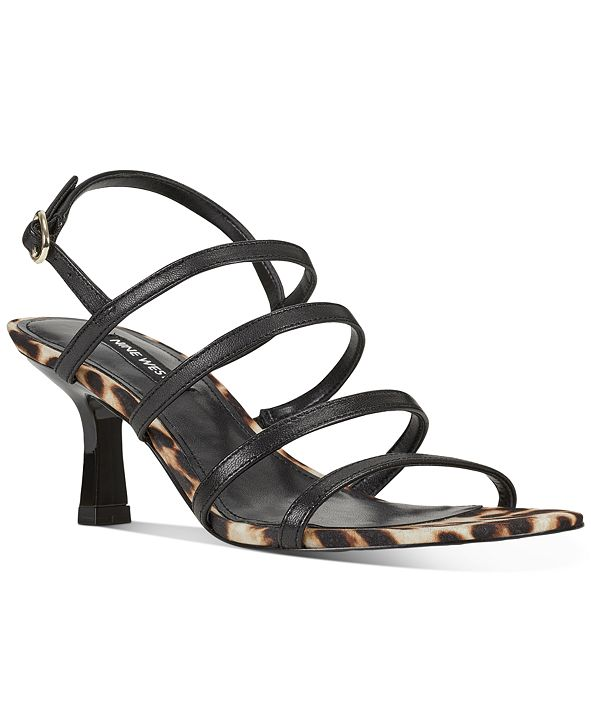 Nine West Smooth Strappy Dress Sandals