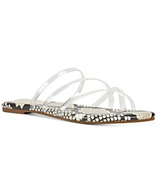 Benette Vinyl Slide Sandals