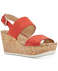 Dera Platform Wedge Sandals