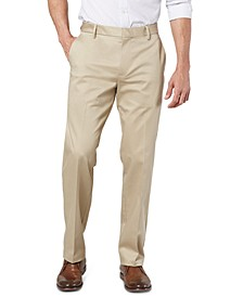 Men's Alpha Straight-Fit Performance Stretch Chinos, Created for Macy's