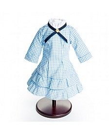 Little House on The Prairie Authentic Laura and Mary Ingalls Check Dress