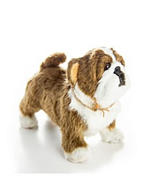 "Officially Licensed Little House on The Prairie Bulldog ""Jack"" Pet Companion with Jute Rope Collar"