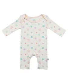 Baby Girls Snowflakes Long Sleeve Bodysuit