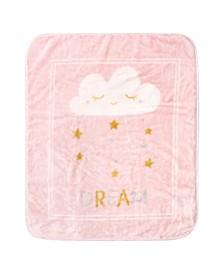 Baby Girls Dream Stars High Pile Plush Blanket