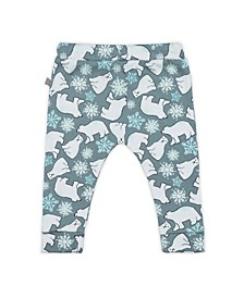 Baby Boys and Girls Snow Bears Lounge Trouser