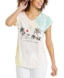 Petite Graphic-Print T-Shirt, Created for Macy's