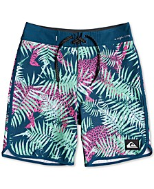 Big Boys Highline Printed Swim Trunks