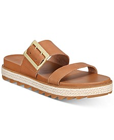 Roaming Buckle Slide Sandals