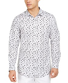 INC Men's Ditsy Floral Shirt, Created for Macy's