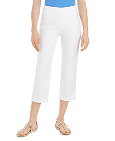 Charter Club Pull-On Capri Pants, Created for Macy's