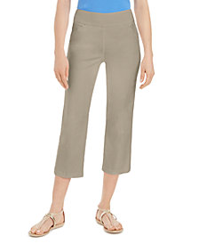 Charter Club Pull-On Crop Pants, Created for Macy's