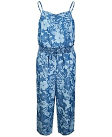 Big Girl Smocked Jumpsuit, Created for Macy's