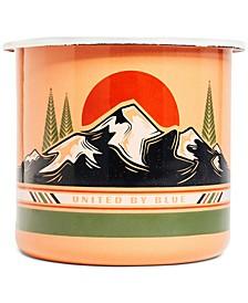 To The Mountains 22Oz Enamel Steel Mug