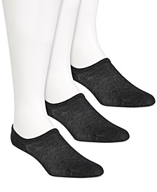 Women's 3-Pk. Butter Silk Ped Socks