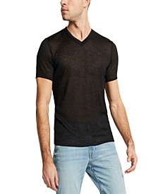 Men's Gauze V-Neck T-Shirt