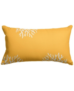 """Majestic Home Goods Cora Decorative Soft Throw Pillow Small 20"""" x 12"""""""