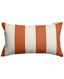 "Vertical Stripe Decorative Soft Throw Pillow Small 20"" x 12"""