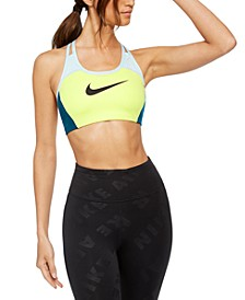 Women's Dri-FIT Colorblocked Racerback Medium-Impact Sports Bra