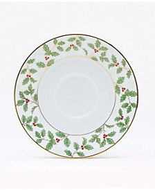 Holly & Berry Gold  Saucer