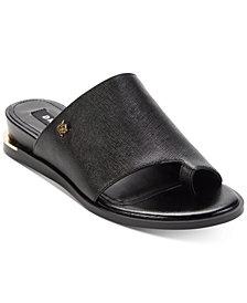 DKNY Daz Flat Slide Sandals