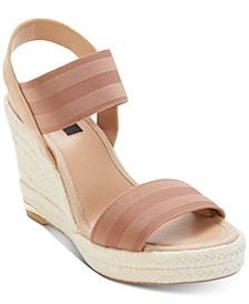 Cat Espadrille Wedge Sandals