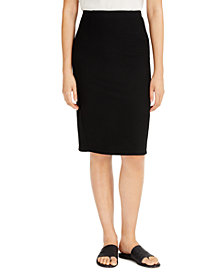 Eileen Fisher SYSTEM High-Waist Pencil Skirt, Regular & Petite Sizes