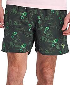 Men's Filey Floral-Print Swim Trunks