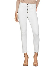 The High Rise Skinny Cropped Jeans