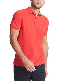 Men's Custom-Fit Stretch Polo Shirt