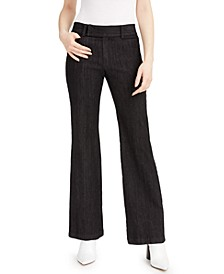 Extend-Tab Bootcut Jeans