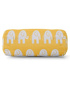 "Ellie Decorative Round Bolster Pillow 18.5"" x 8"""
