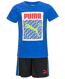 Toddler Boys 2-Pc. T-Shirt & Shorts Set