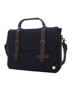 Manhattan Portage Waxed Cortelyou Bag In Black