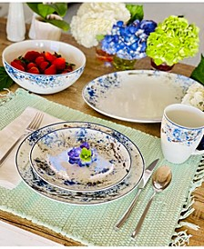Blue Nebula Dinnerware Collection