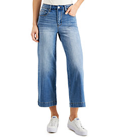 Numero Cropped Wide-Leg Jeans