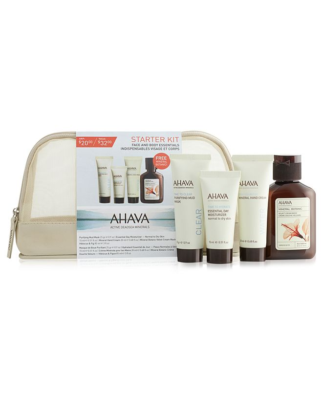 Ahava Face and Body Essentials Value Set