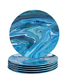 Fluidity 6-Pc. Dinner Plates