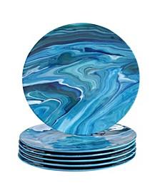 Fluidity 6-Pc. Dinner Plates