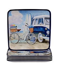 Beach Time Melamine Dinnerware