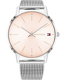 Women's Stainless Steel Mesh Bracelet Watch 40mm, Created for Macy's
