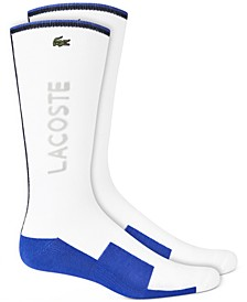 Men's Sport Colorblocked Logo Tube Socks