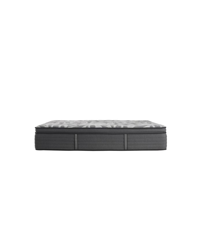 "Sealy Premium Posturepedic Satisfied II 14"" Plush Pillow Top Mattress- King & Reviews - Mattresses - Macy's"