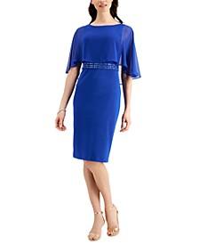 Overlay Sheath Dress