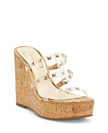 Sourie Wedge Sandals