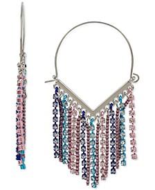 Fringe Wire Hoop Earrings