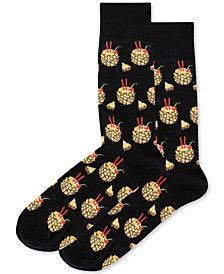 Men's Socks, Pineapple