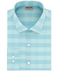 Men's Slim-Fit All-Day Flex Horizon Check Dress Shirt