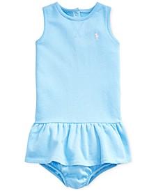 폴로 랄프로렌 여아용 원피스 Polo Ralph Lauren Baby Girls French Terry Dress & Bloomer