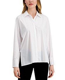 Side-Slit Shirt, Created for Macy's