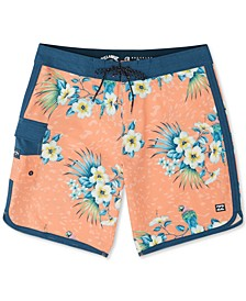 Big Boys 73 Line Up Pro Swim Trunks